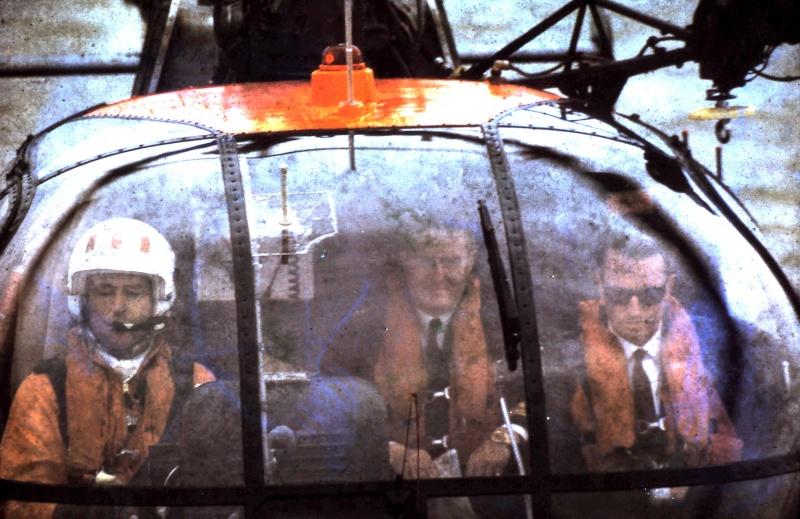 VISITE  de Sa Majesté le roi Baudouin à bord du ZINNIA ,1972 9-28-212