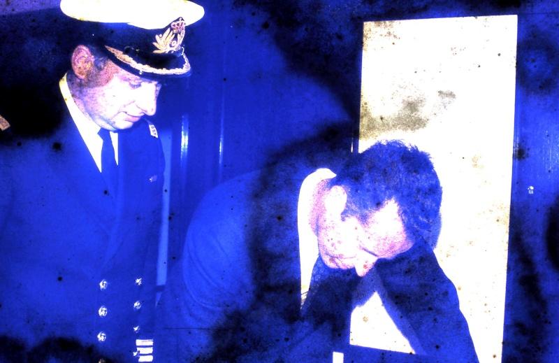 VISITE  de Sa Majesté le roi Baudouin à bord du ZINNIA ,1972 9-28-224