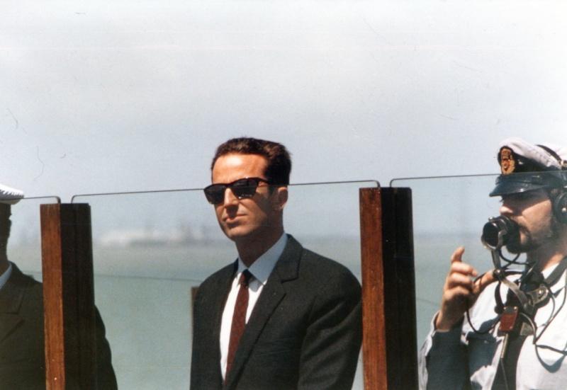 VISITE  de Sa Majesté le roi Baudouin à bord du ZINNIA ,1972 Img13810