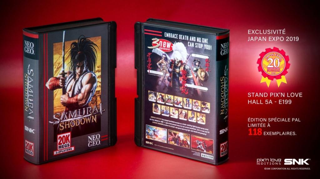 [ACH] Samurai Showdown PS4 Edition pix'n love limitée 118 exemplaires D-xjgy10