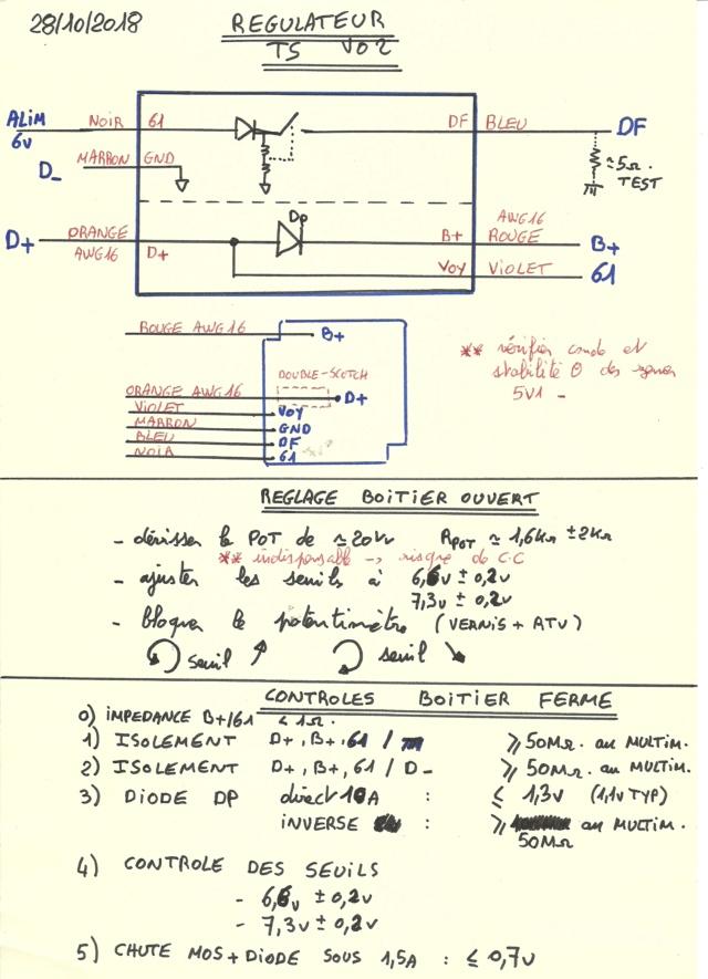 electronique - TS : fabrication d'un régulateur électronique spécifique 6v - Page 15 Notice10
