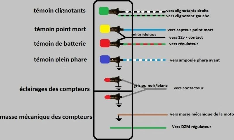 Câblage et  test  compteur SPORTSTAR Plan_c12