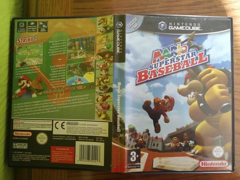 [ECH] Mario superstar baseball GC Mariob11
