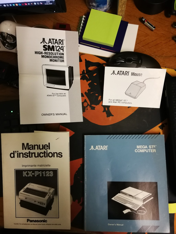 [EST] Lot Atari Mega ST Megast10