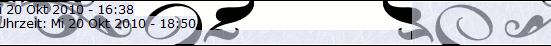Tabellenreihe Farbe CSS code usw Screen10