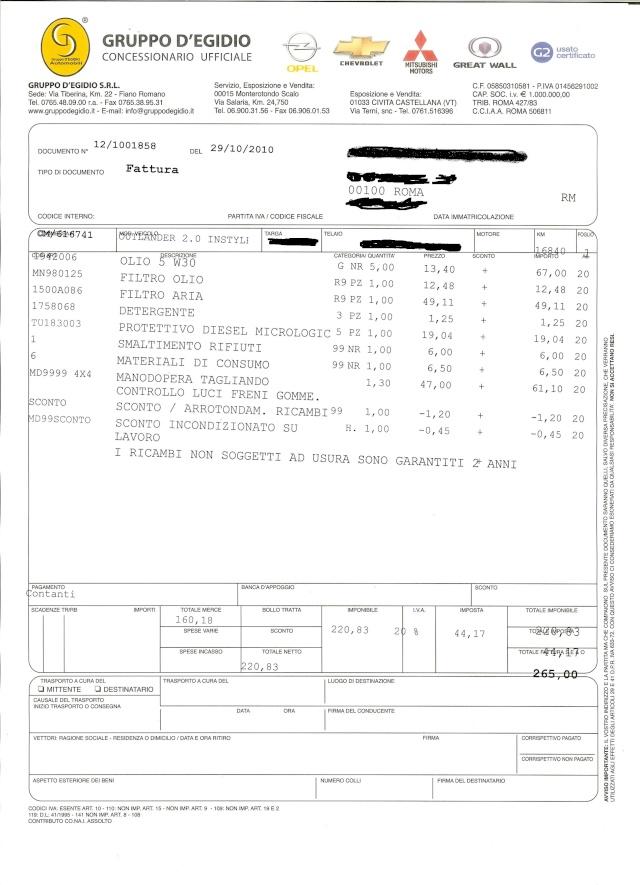 tagliando - PRIMO TAGLIANDO - Pagina 8 Fattur11