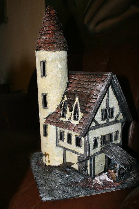 Mordheim buildings  Bordel13