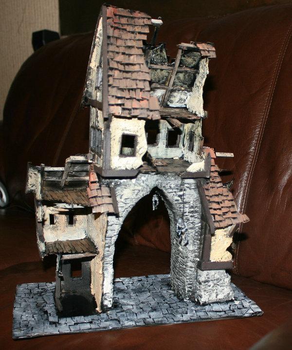 Mordheim buildings  House111