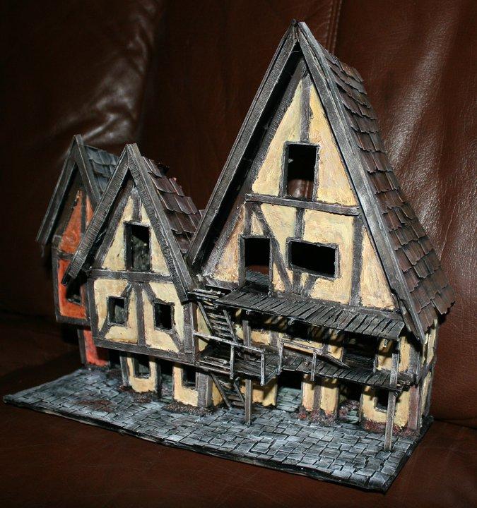 Mordheim buildings  House410
