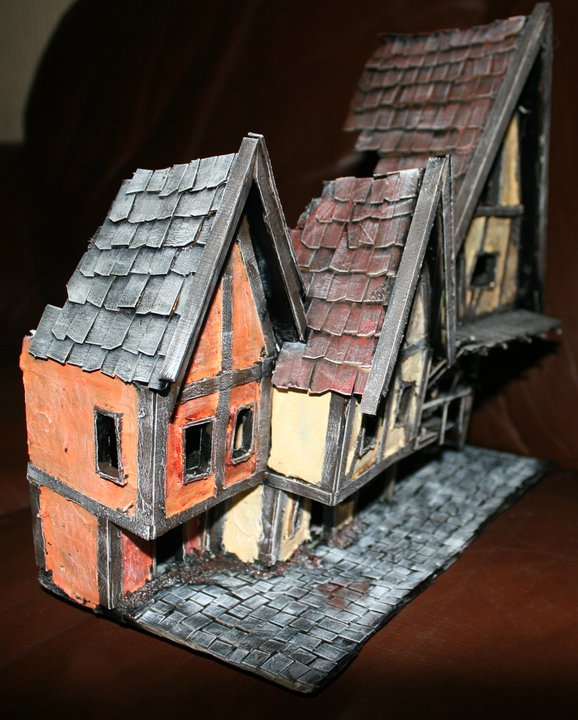Mordheim buildings  House411