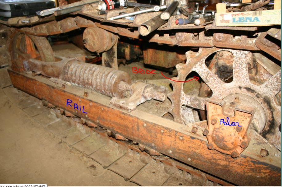 restauration - Restauration FIAT 60C Rail10