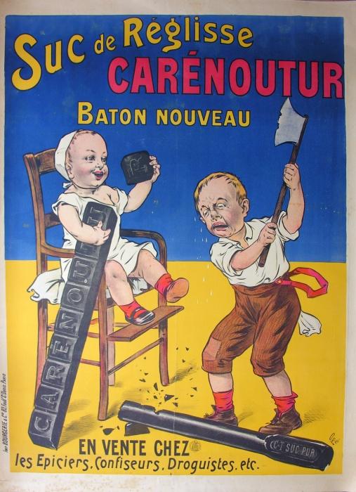 Les affiches du temps passé quand la pub s'appelait réclame .. - Page 2 Affich12