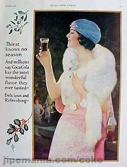 Les affiches du temps passé quand la pub s'appelait réclame .. Coca_c10