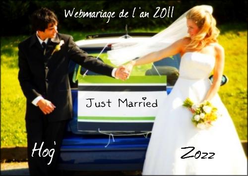 Webmariage de Zozz et Hog'