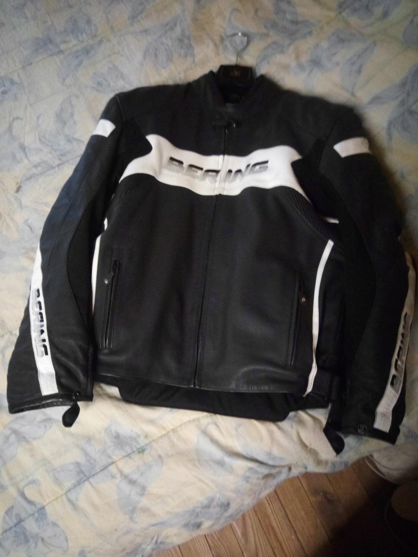 [vends]blouson cuir BERING moto route 2xl 47689410