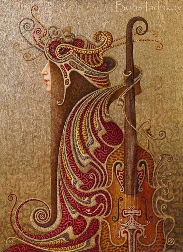 MUSIQUE: musiciens en peinture , en sculpture,... - Page 3 Boris_12