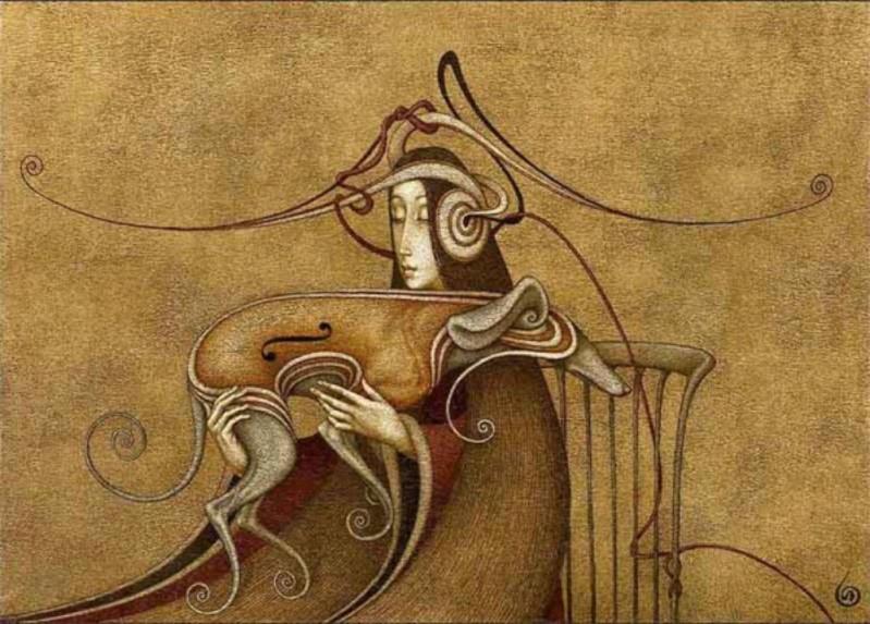 MUSIQUE: musiciens en peinture , en sculpture,... - Page 3 Boris_13