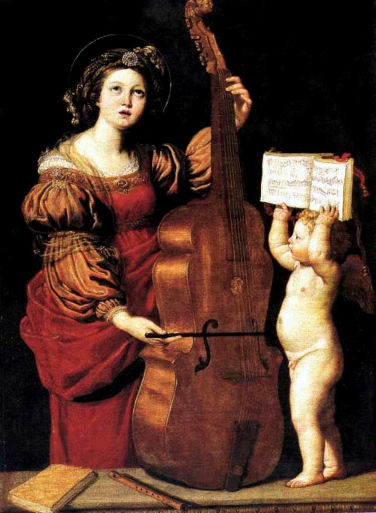 MUSIQUE: musiciens en peinture , en sculpture,... - Page 3 Domeni16
