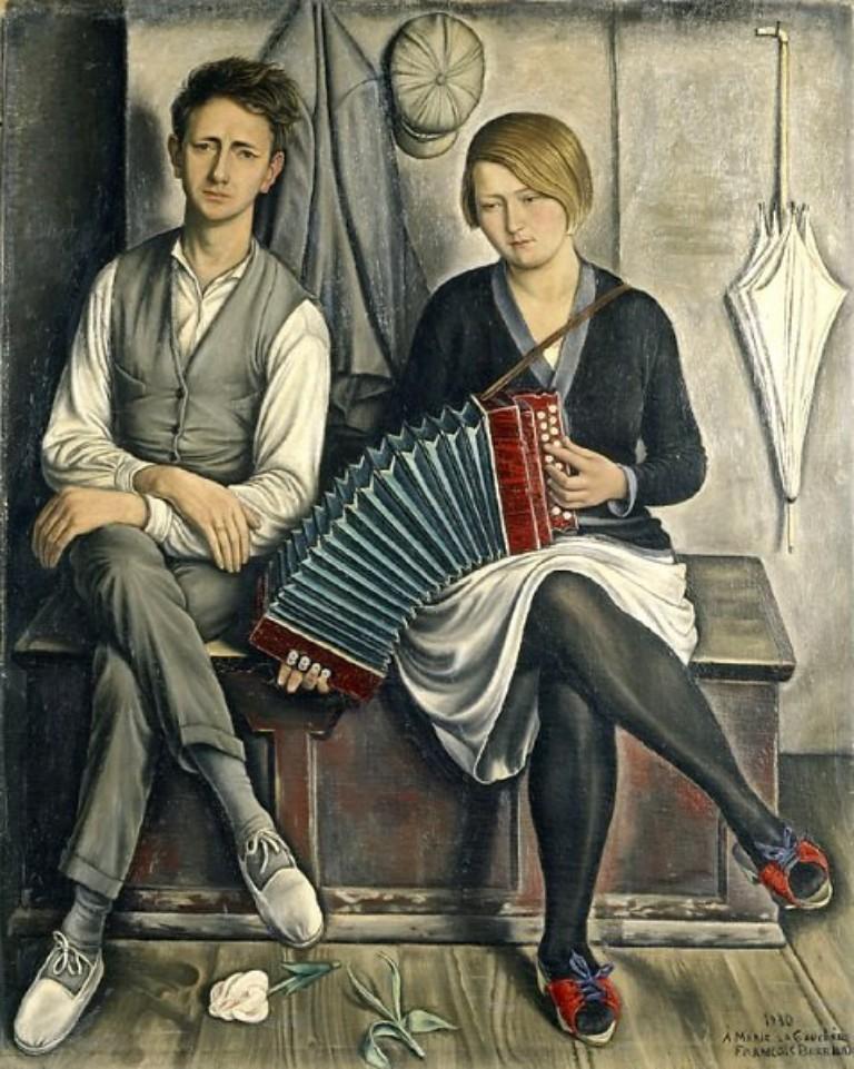 MUSIQUE: musiciens en peinture , en sculpture,... - Page 3 Franao10