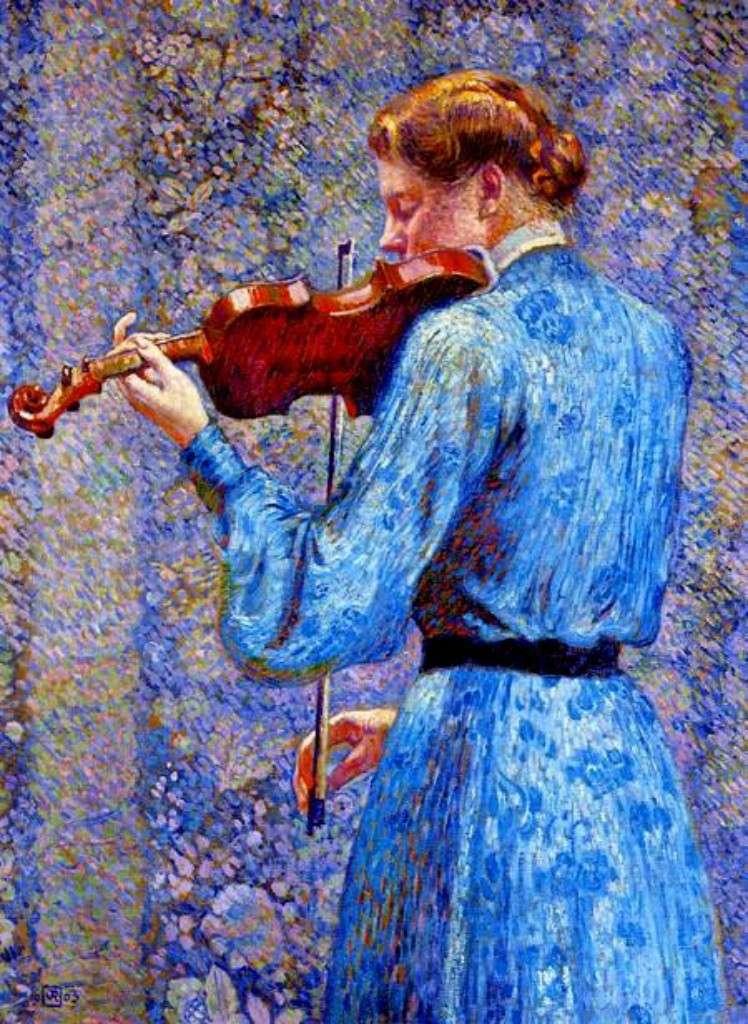 MUSIQUE: musiciens en peinture , en sculpture,... - Page 3 Theo_v10