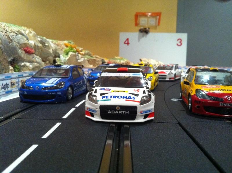 Tour d'essai en NSR Cup. Car210