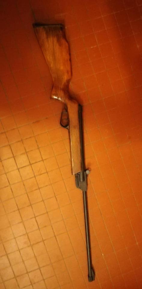 restaurer une vielle carabine  110