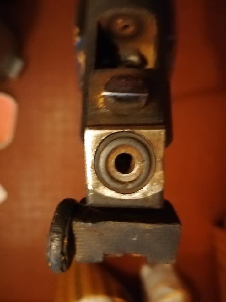 restaurer une vielle carabine  510