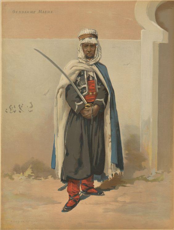 Gendarme Maure 1870 Par BONO 2cb4a410