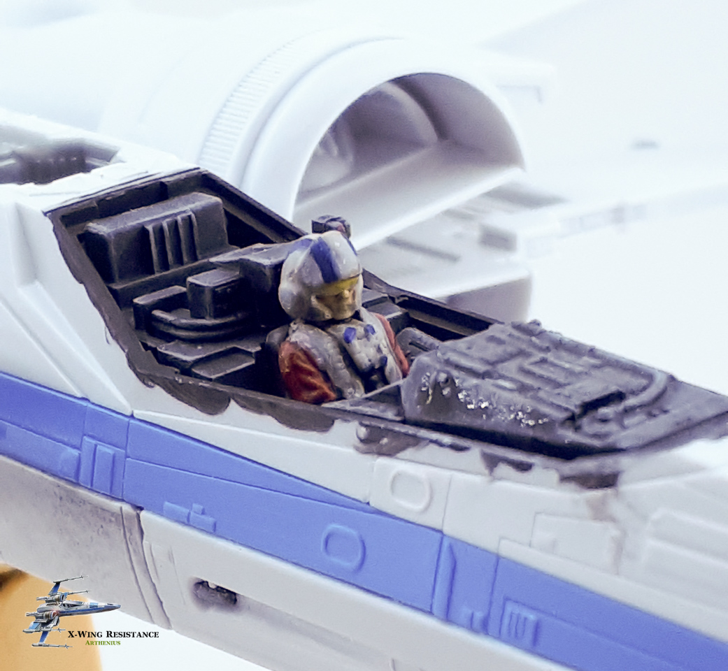 X-wing résistance - Bandai 1/72eme 2018-015