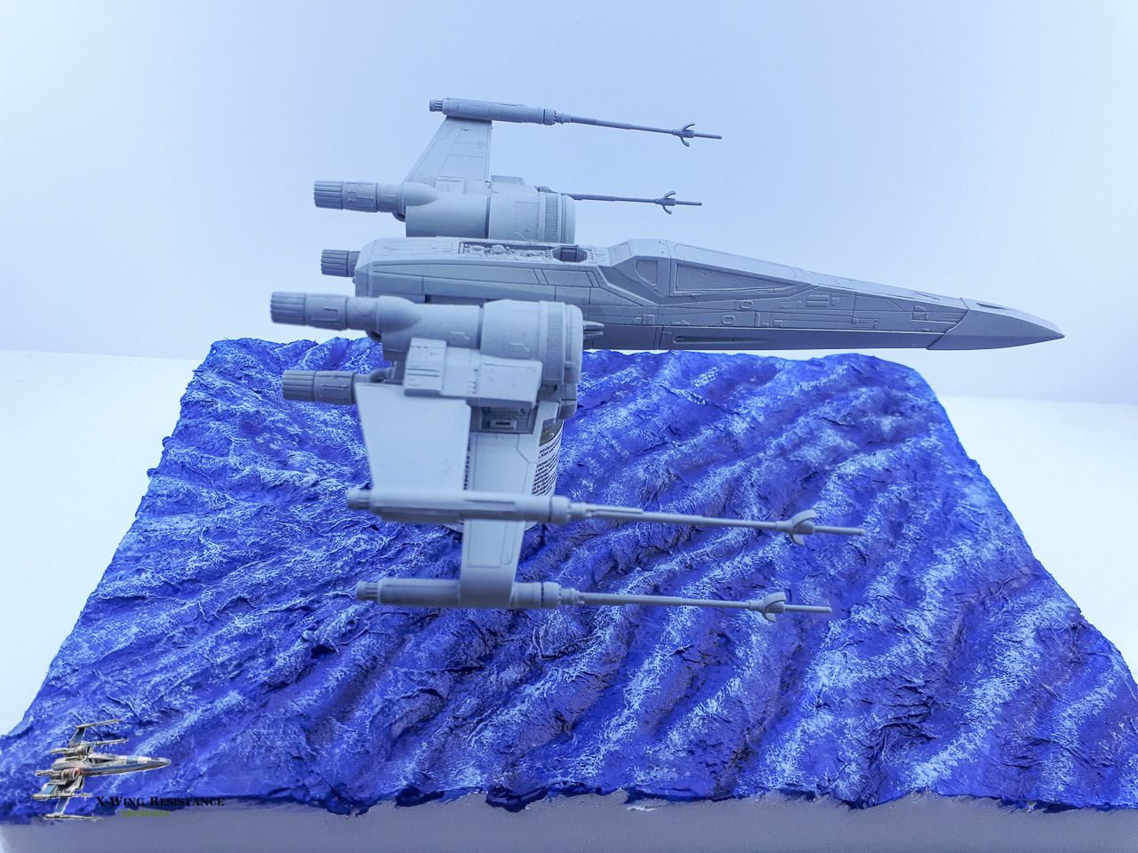 X-wing résistance - Bandai 1/72eme 2018-032