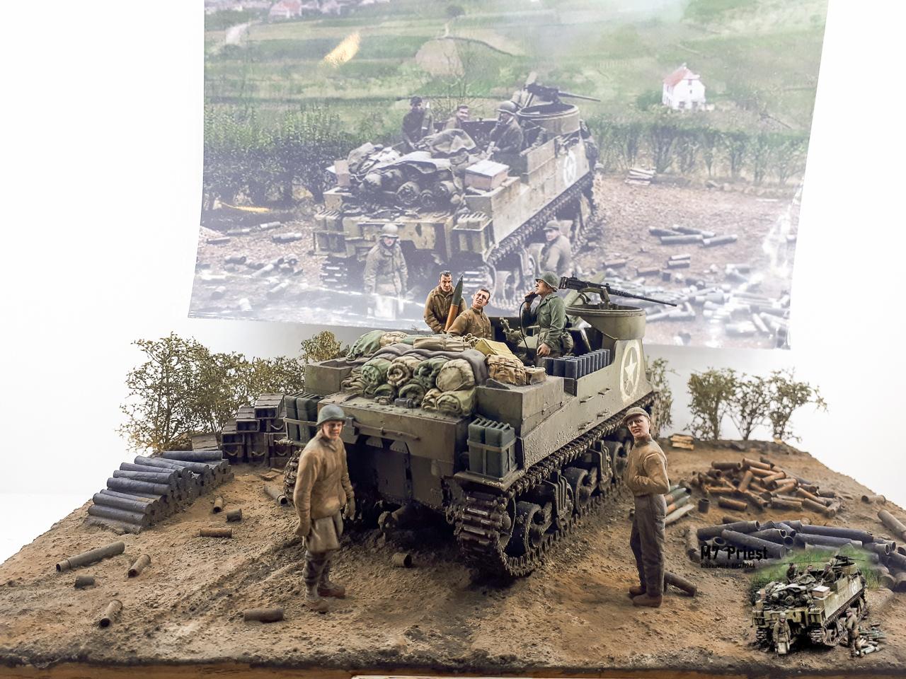 M7 Priest Ribeauvillé 9/12/1944 2018-161