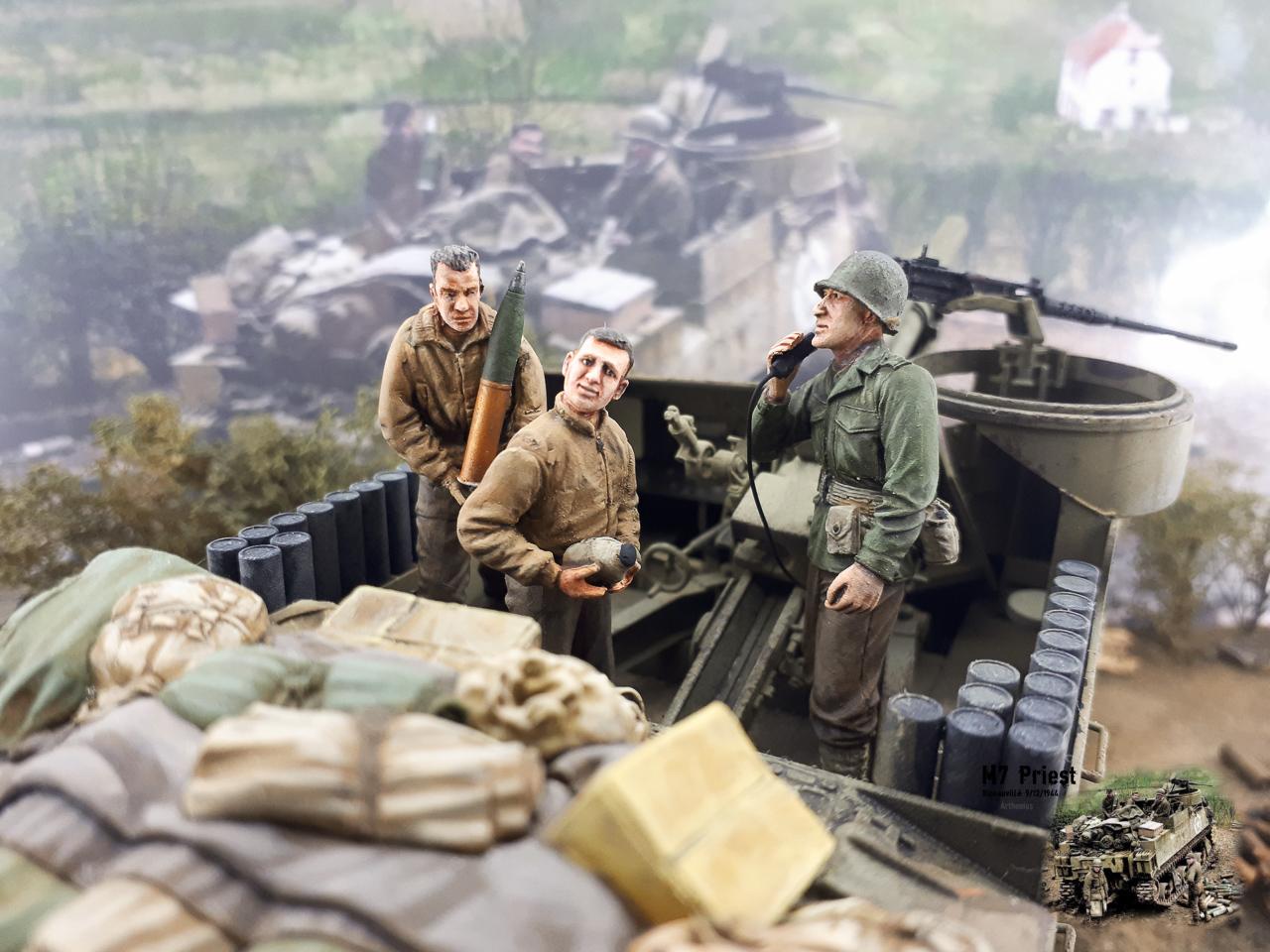 M7 Priest Ribeauvillé 9/12/1944 2018-163