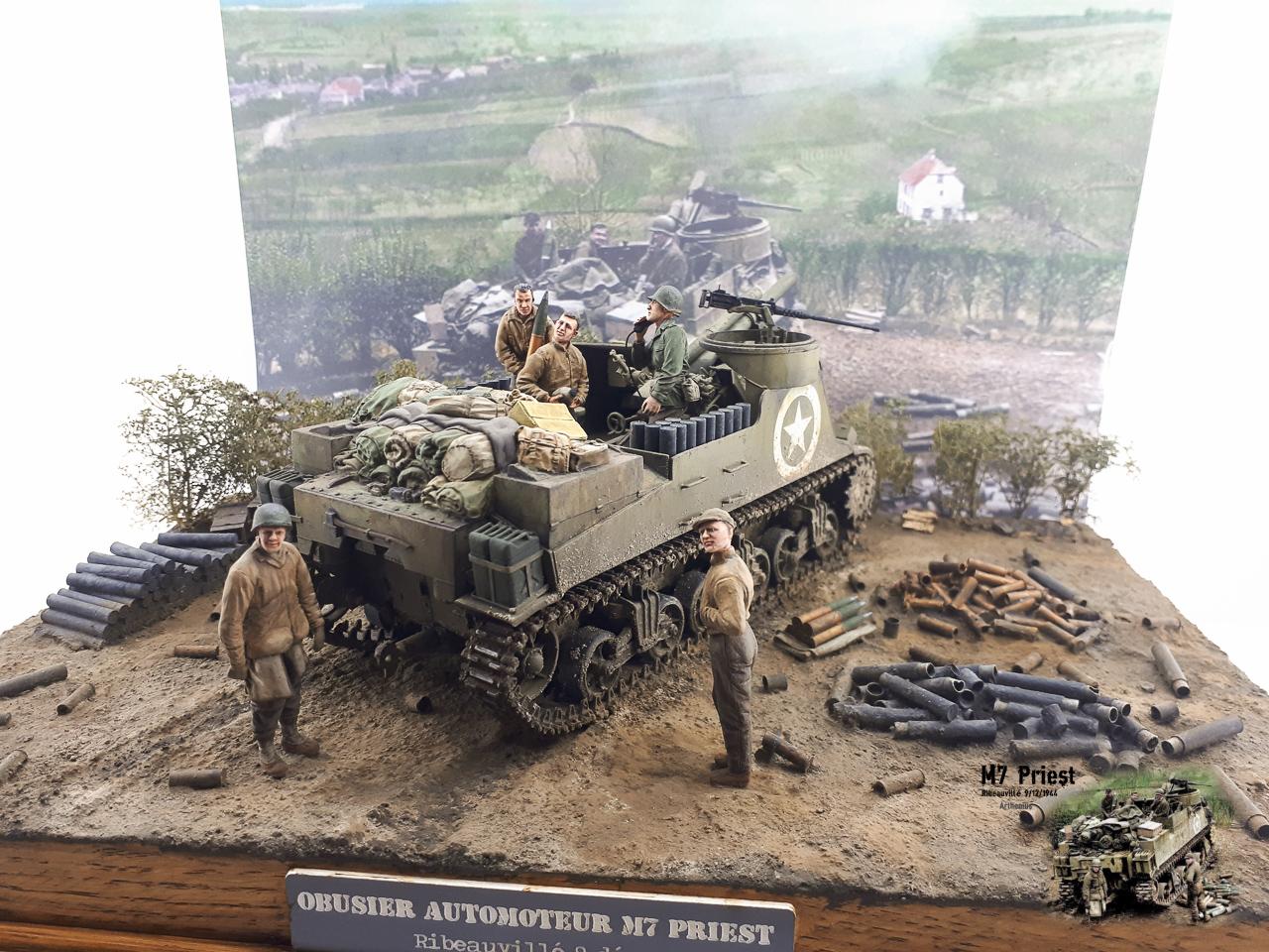 M7 Priest Ribeauvillé 9/12/1944 2018-164