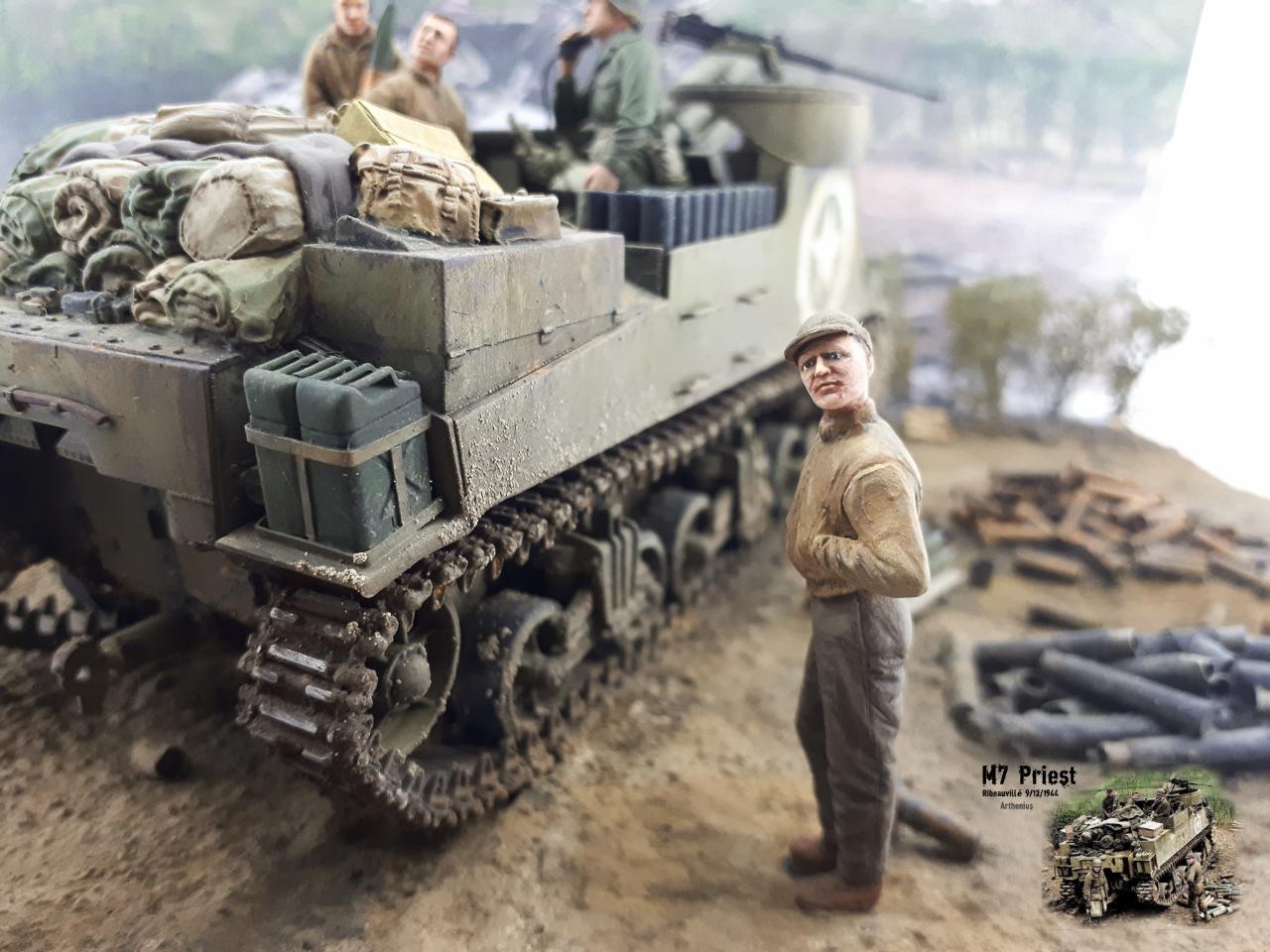 M7 Priest Ribeauvillé 9/12/1944 2018-165