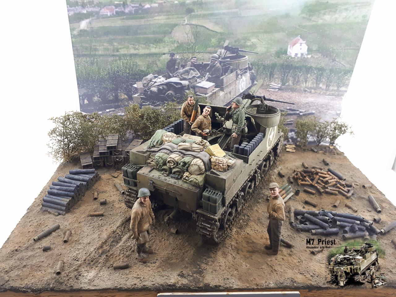 M7 Priest Ribeauvillé 9/12/1944 2018-167