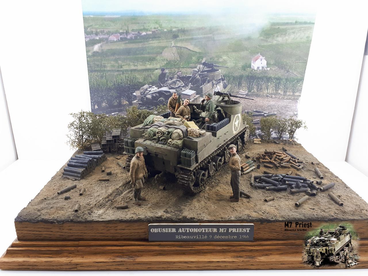 M7 Priest Ribeauvillé 9/12/1944 2018-169