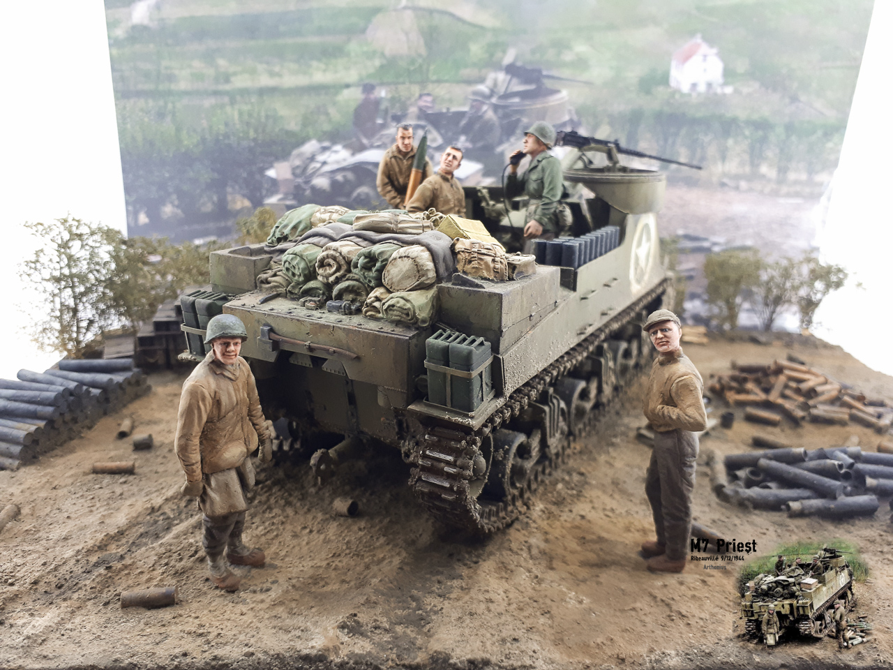 M7 Priest Ribeauvillé 9/12/1944 2018-170