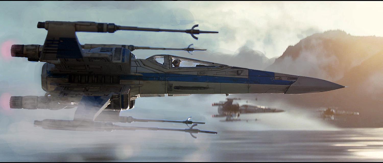 X-wing résistance - Bandai 1/72eme Blue_s10