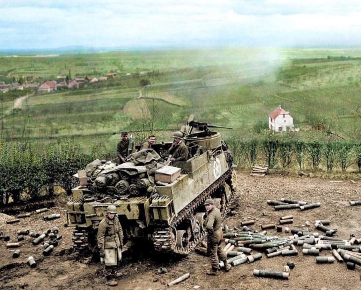 M7 Priest Ribeauvillé 9/12/1944 Screen10