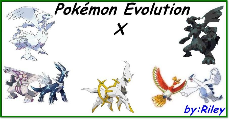 Pokemon Evolution X