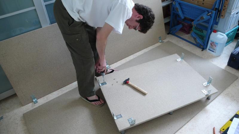 Fabrication d'une armoire de sellerie L1260913