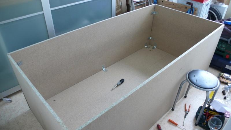 Fabrication d'une armoire de sellerie L1260914