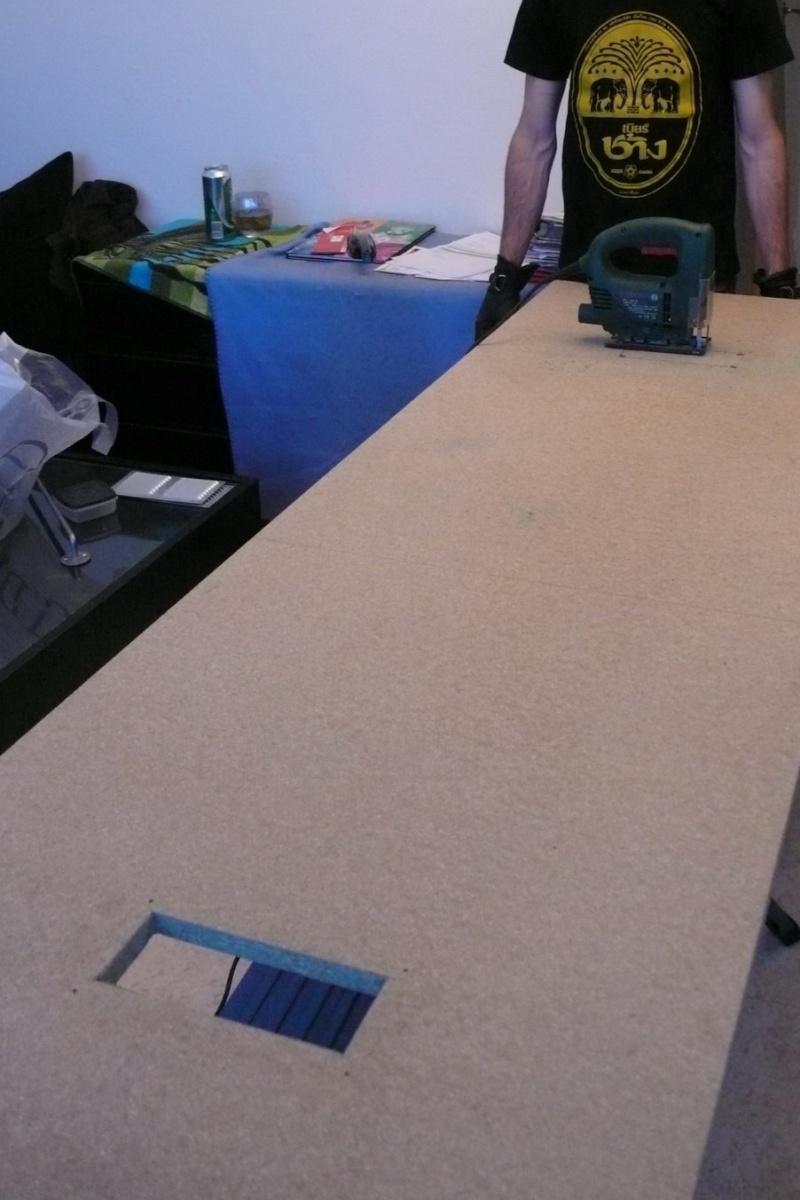 Fabrication d'une armoire de sellerie L1260916