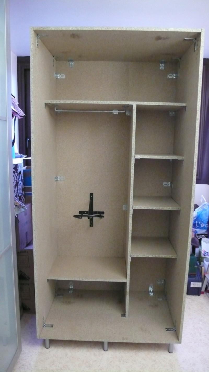 Fabrication d'une armoire de sellerie L1260922