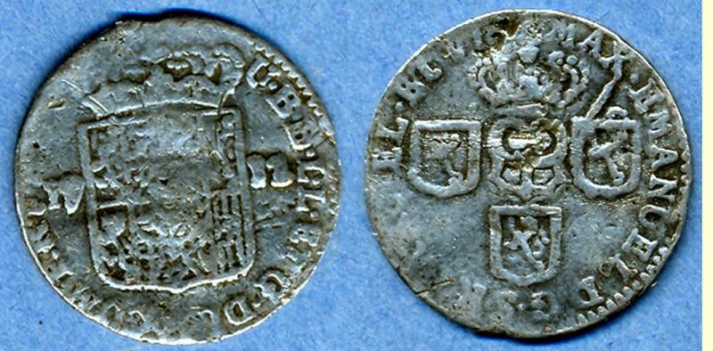 Liard Luxembourg 1712 Maximilien Emmanuel de Bavière (atelier de Namur) Max_em10