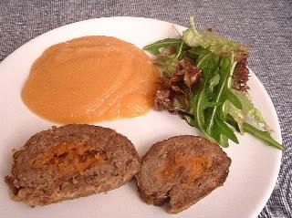 Rolo de Carne com Farinheira e Puré de Maça Dscf0013