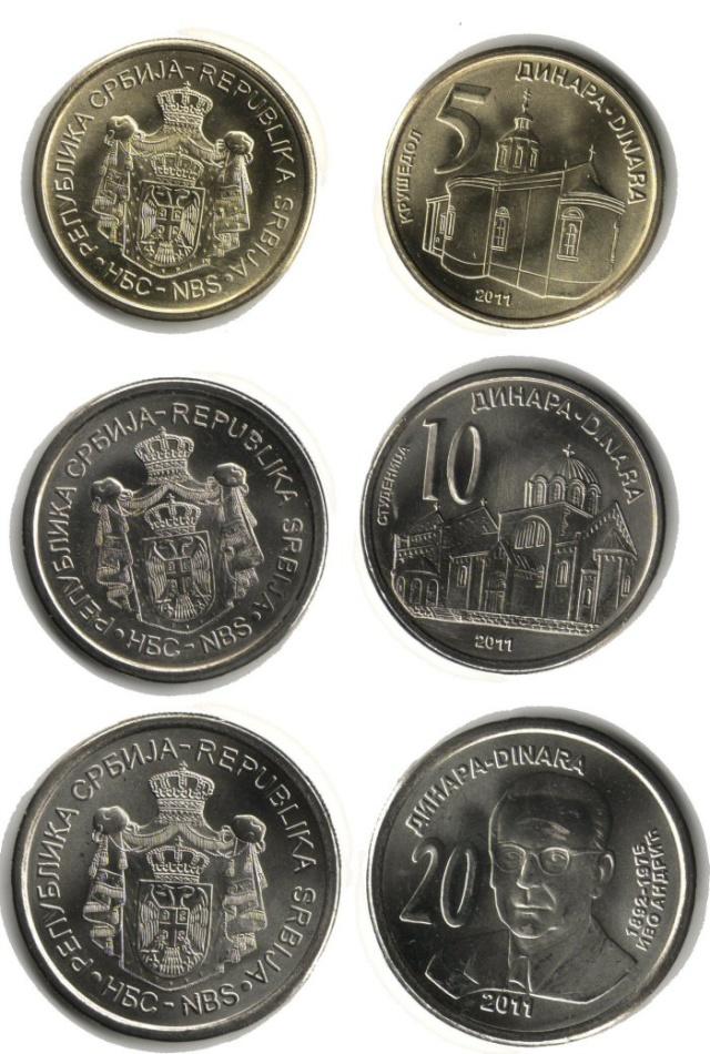 Ivo Andrić na novoj kovanici od 20 dinara 110