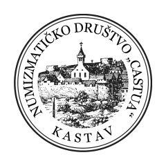 """Obavijesti Numizmatičkog društva """"Castua"""" - Kastav Logo-m10"""