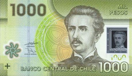 Chile 1000 pesos 2011 - polymer Public10