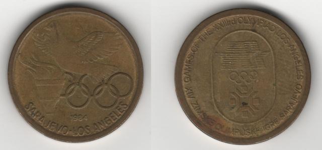 Žeton OI Sarajevo Zeton-11